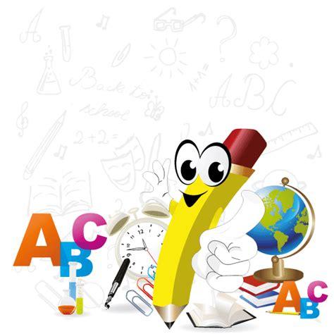 imagenes a lapiz de caricaturas caricatura de un l 225 piz escolar vector vector clipart