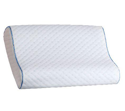 Foam Contour Pillow by Sealy Memory Foam Contour Pillow Qvc