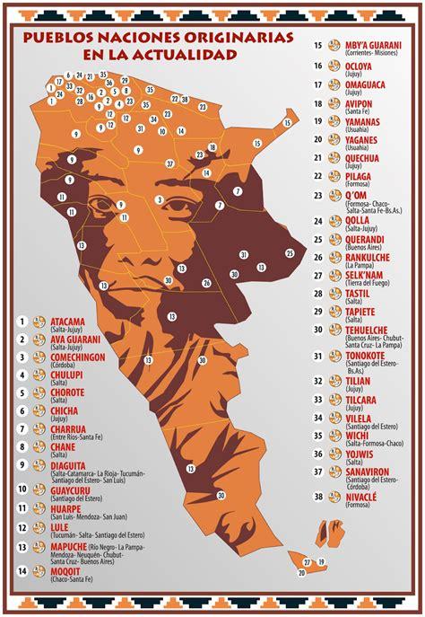 mapa america pueblos originarios cr 243 nicas de la tierra mal mapa de pueblos