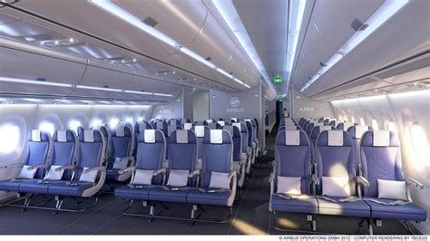 Cabin Class Economy by Airbus Tests And Unveils A350 Cabin Concepts World