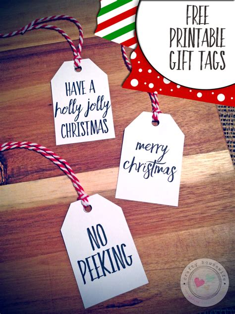 search results for black and white christmas gift tags