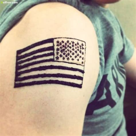 black american flag tattoo tattoo collections