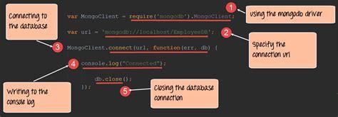 tutorial node js mongodb node js mongodb tutorial with exles