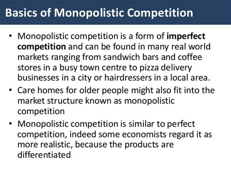 Competition And Monopoly In Care monopolistic competition