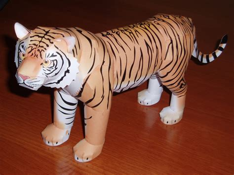 Tiger Papercraft - papercraft tiger related keywords suggestions