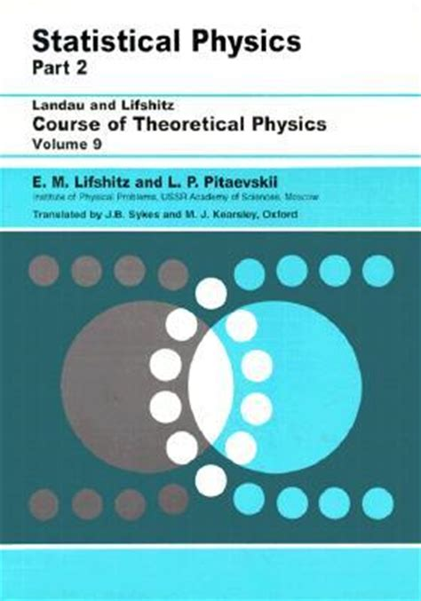 statistical physics for babies baby books course of theoretical physics vol 9 statistical physics