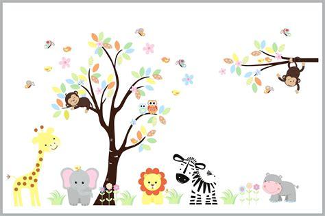 nursery animal wall decor wall decor ideas