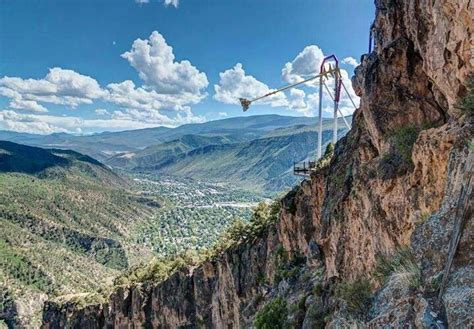 canyon swing colorado giant canyon swing in colorado wanderlusting