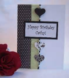 card idea to make a birthday card and other handmade card ideas