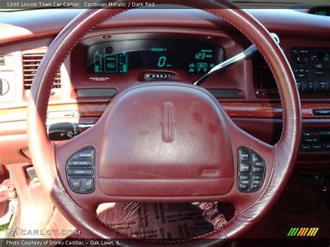 lincoln town car steering wheel 1996 town car cartier steering wheel photo no 70973011