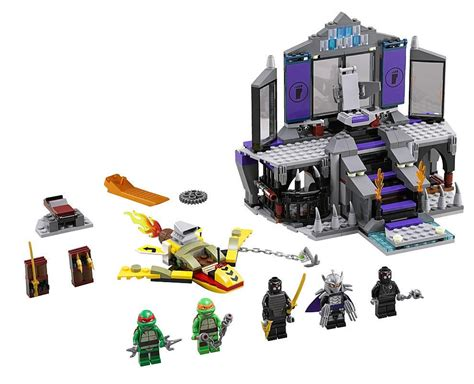 Brick Bela 10278 Tmmt Turtle Lair lego 79122 shredders lair rescue i brick city