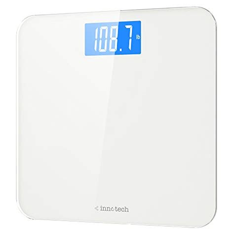 innotech digital scales high accuracy digital bathroom