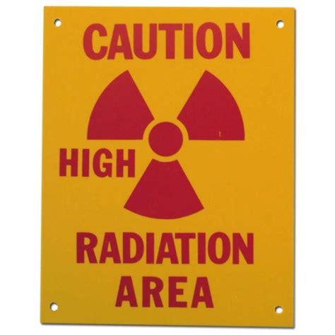 printable caution radiation area sign pvc sign caution high radiation area sign 8 x 10 inch