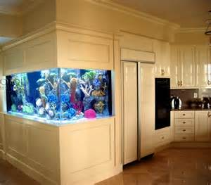 attractive Blue And Yellow Living Room Ideas #5: 100-ideas-integrate-aquarium-designs-in-the-wall-or-in-the-living-room-75-411921451.jpg