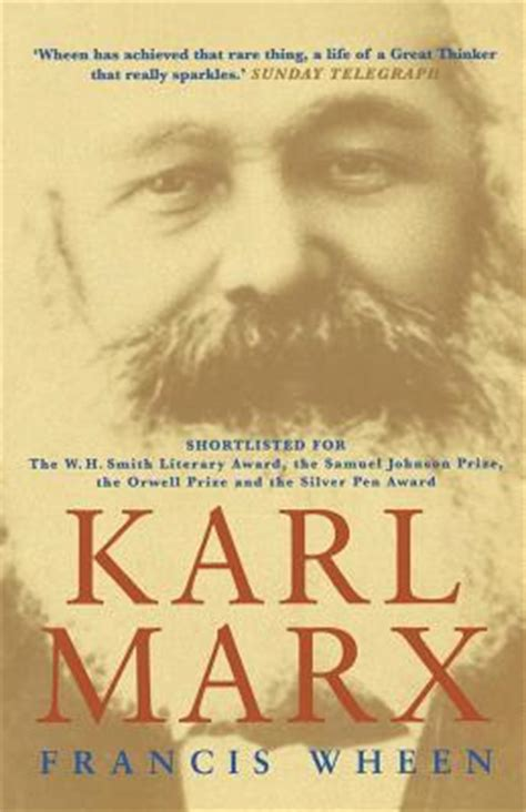 Book Review Me By Carey Marx by Karl Marx By Francis Wheen Reviews Discussion