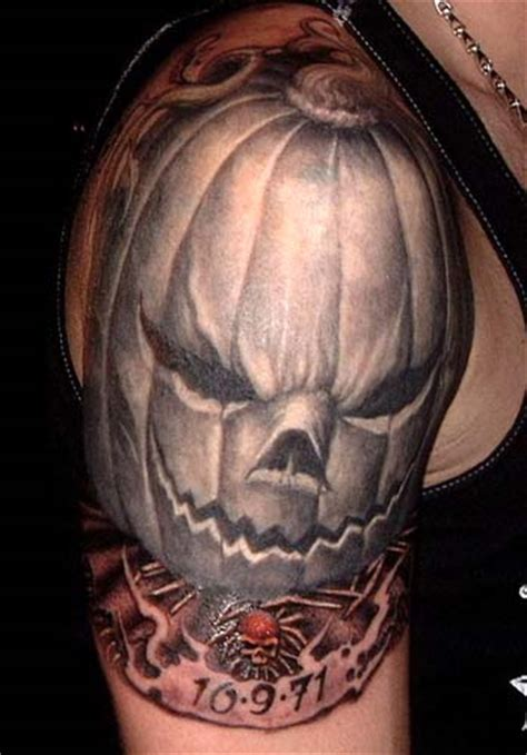 jack o lantern tattoo evil o lantern by paul booth tattoos