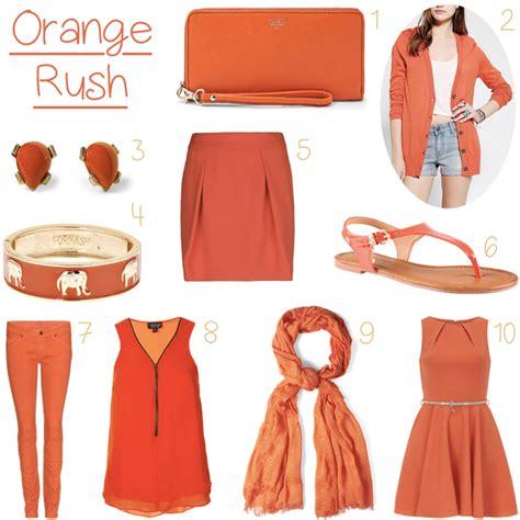 Fashion Orange 10 orange clothing items for summer 2013