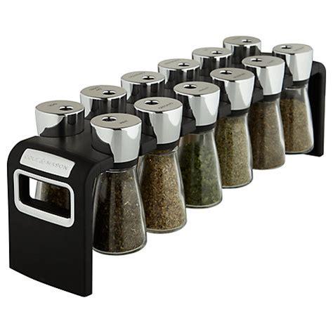 buy cole 12 jar spice rack lewis