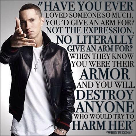 eminem when i m gone lyrics when im gone eminem quotes quotesgram
