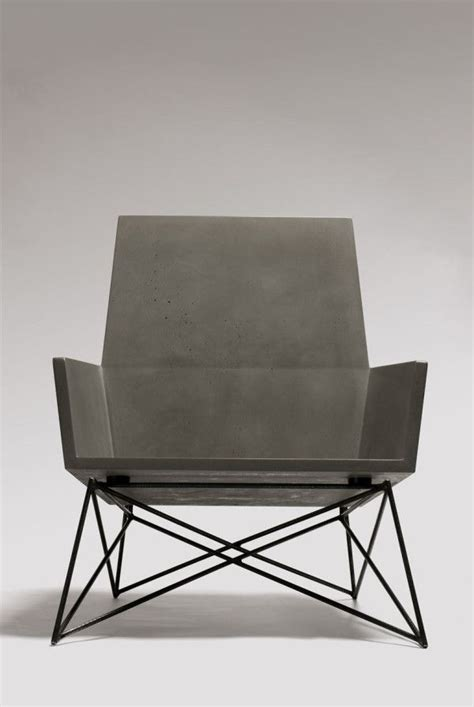 Concrete Chair by 13 Concrete Products To Set Your Home Award Winning