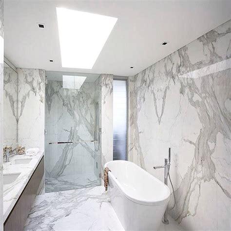 calacatta marble bathroom bathroom marble inspiration design on instagram