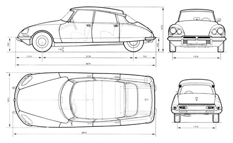 online blueprints tutorials3d com blueprints citroen ds