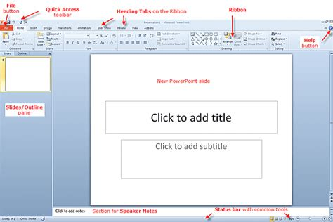 Powerpoint 2010 For Beginners What S New Where To Powerpoint