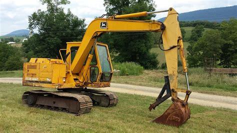 John Deere 70 Midi Excavator Youtube
