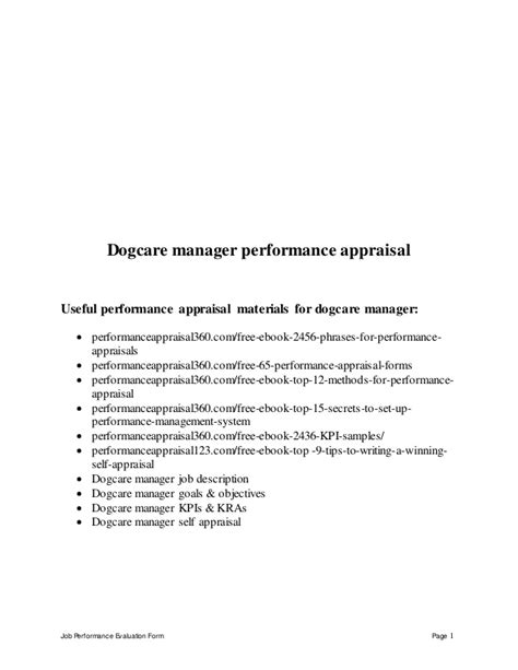 Back Office Assistant by Back Office Assistant Performance Appraisal