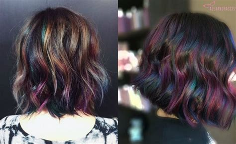 hair dye could cause cancer and brunettes are at greater best 25 oil slick hair color ideas on pinterest oil