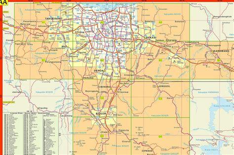 depok map