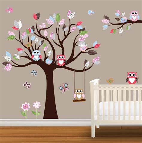wall stickers baby owl baby nurseries baby nursery wall stickers children