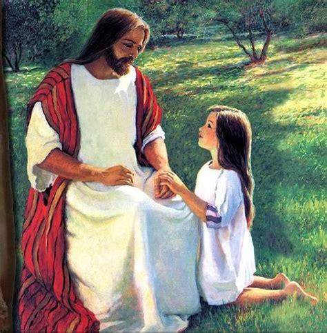 Imagenes De Jesus Con Una Niña   sacerdote eterno los ni 209 os en el mensaje de jesucristo