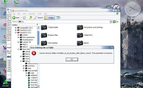 membuat virus yang tidak bisa dihapus membuat folder yang tidak dapat dihapus
