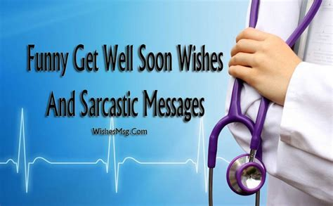 70 Funny Get Well Soon Messages, Wishes and Texts   WishesMsg