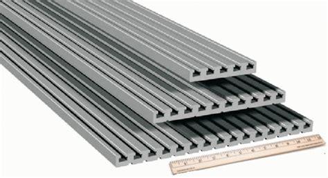 aluminum t slot table top aluminum extrusion table plate 25mm t slot table plate