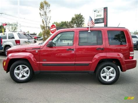 red jeep liberty 2009 2009 inferno red crystal pearl jeep liberty rocky mountain
