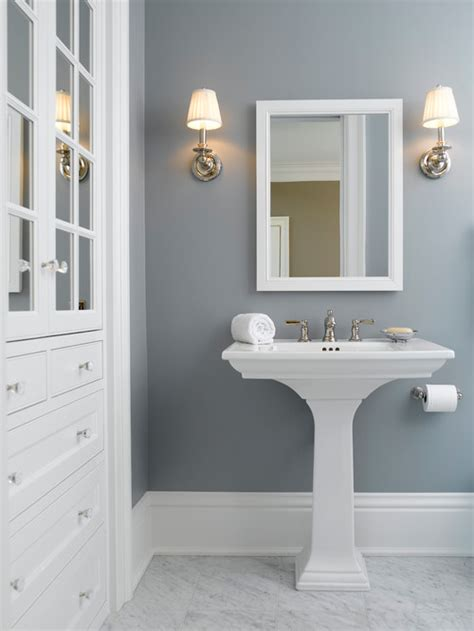 bathroom wall colors with white cabinets 2015 favorite paint color trends the new transitionals