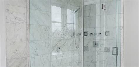 Custom Shower Glass Panels by Custom Glass Shower Doors Enclosures Glass Panels