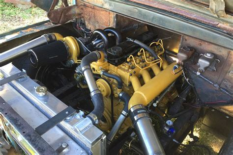 Ford Truck Engines by Ford Caterpillar Diesel Conversion