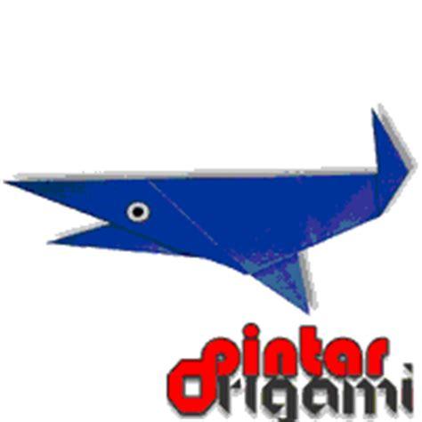 Cara Membuat Origami Ikan Hiu | cara membuat origami ikan hiu cara membuat origami