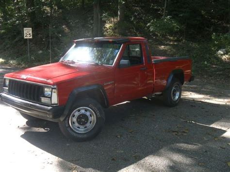 1987 Jeep Comanche Purchase Used 1987 Jeep Comanche Truck 2 Door