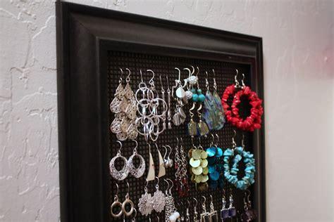 diy earring holder diy jewelry holder