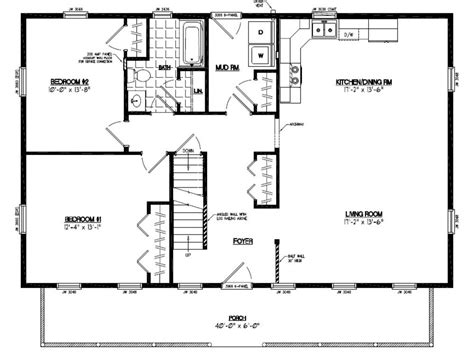 house plans with basement 24 x 44 certified homes mountaineer certified home floor plans