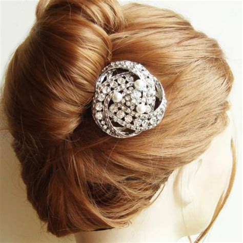 Wedding Hair Accessories Deco by Vintage Bridal Hair Comb Deco Wedding Hair