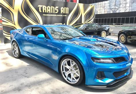 Trans Auto 2017 trans am duty presented at the new york auto show