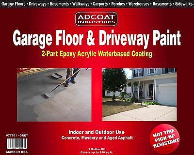 garage floor driveway paint 2 part epoxy