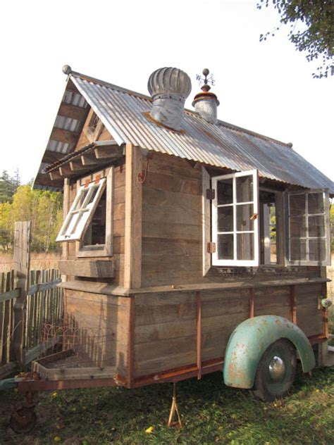 houses on wheels rustic tiny house on wheels