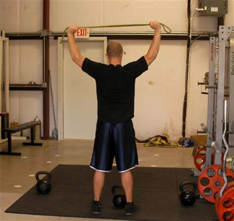 critical bench exercises resistance band behind the neck pull aparts exercise video