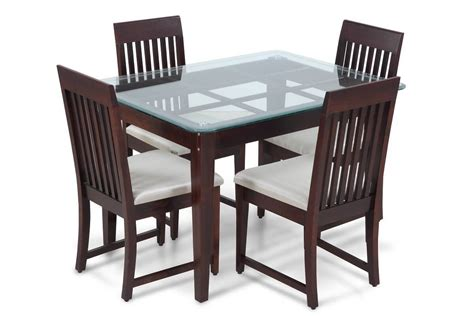 table a diner stylish four seater dining table set dining room sets